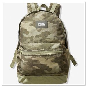 NWT VS PINK CAMO CAMPUS BACKPACK